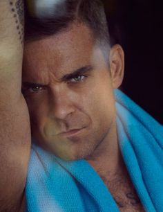 Robbie Williams photographed by Sean and Seng for the cover story of Interview Germany magazine's October 2012 issue. William Blake, Stoke On Trent, Robbie Williams Take That, Top 10 Actors, Gary Barlow, Clive Owen, The Power Of Music, The Right Stuff, Most Handsome Men
