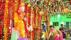 Devotees throng Sai Baba temples on Guru Purnima