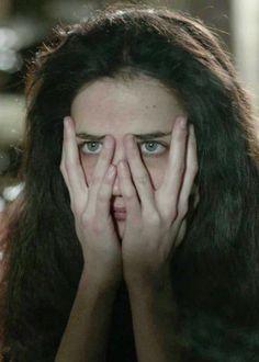 Eva Green - face in hands - peeking through her fingers Triquetra, Eva Green Penny Dreadful, Penny Dreadfull, Vanessa Ives, Mary Elizabeth Winstead, Provocateur, Teresa Palmer, Rachel Weisz, Penelope Cruz