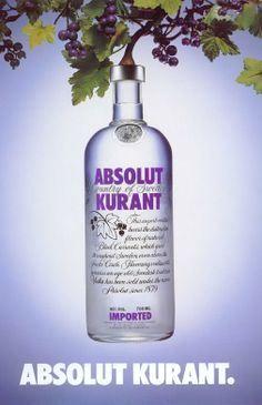 Absolut KURANT | Blackcurrant flavored vodka