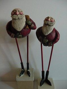 Laurie Hardin: Update on the 2 FastMache Santa Clause Figures