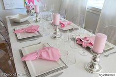 hopea,pinkki,vaaleanpunainen,valkoinen,asko,kartell,ikea,new wave,pentik,hm,stockmann,riviera maison,pioni,kynttilät,kattaus,hackmann,iittala,essence,keittiö