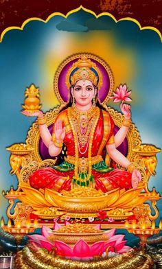 The festival of lights, Diwali 2020 is going to be a boom time. Get Perpetual Wealth Flow, Materialistic Comforts & Triumph from Diwali puja & other rituals. Divine Goddess, Goddess Lakshmi, Diwali Pooja, Lakshmi Images, Shiva Shakti, Durga Maa, Lord Vishnu Wallpapers, Hindu Deities, God Pictures