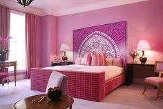 Déco orientale rose... ...