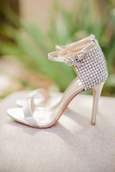 083a3a265dce Silver wedding shoes  weddingchicks Silver Wedding Shoes