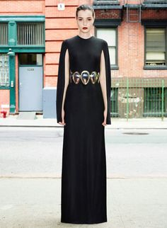 Givenchy Resort 2013 Black Gown with Sleeves - Best Resort 2013 Fashion Looks - Harper's BAZAAR