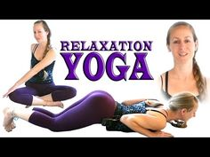 Yoga For Complete Beginners - Anxiety & Stretches Relief - 20 Minute Workout - YouTube