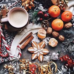 We'll take a batch of spiced ginger cookies and a cup of eggnog to start of our Christmas festivities. It won't be long till the turkey is in the oven and the presents are being unwrapped. There's exactly five Monday's till Christmas and we can't wait!