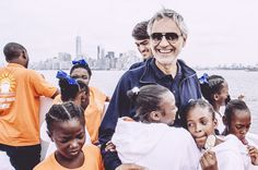 Andrea Bocelli 's Foundation - Since 2013 the Foundation has supported a tanker truck that distributes water in the slums of Cité Soleil, every day, three times a day, and 6 days a week. Having understood its effectiveness and need, the Foundation has decided, since 2014, to double its commitment with a second truck.