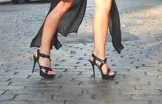 L.A.M.B. sandals