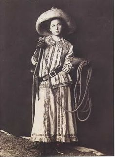 The Lone Cowgirl Presents: Old Time Cowgirl Declared A Myth