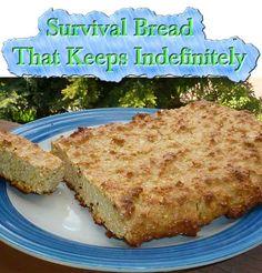 Survival Bread That Keeps Indefinitely - LivingGreenAndFrugally.com