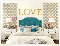 Bedroom Decor Blue And Gold champagne dream: let your love for champagne inspire your bedroom
