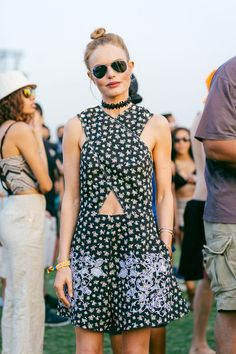 Kate Bosworth | Choker | Coachella