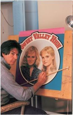 James Mathewuse, who did all the illustrated covers for the Sweet Valley High and Twins series.