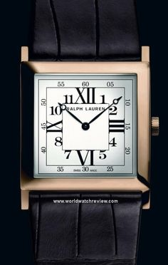 Ralph Lauren presents a beautiful new model in its Slim Classique Square  collection (originally introduced in now referred to as the RL This new 29a7cdaa19e4f