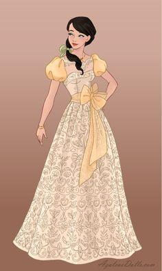 Wedding-Dress - Melody by on DeviantArt Disney Artwork, Disney Fan Art, Disney Drawings, Disney Princess Fashion, Disney Princess Pictures, Princess Melody, Film Disney, Pinturas Disney, Doll Divine