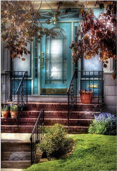 Spring Apartment Door by © Mike Savad via fineartamerica.com