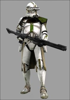 Clone Commander [Green] - ROTS - Basic (III 33) Research Droids Reviews - JediTempleArchives.com