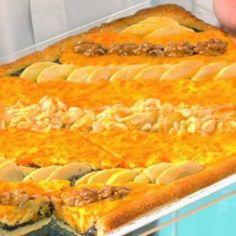 Sütőtökös-almás pite mákkal