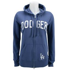 I need a zip up Dodgers jacket, my over the head one messes my hair up!