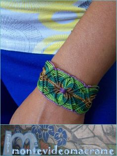 tejido artesanal: PULSERAS MACRAME /Chelsea !