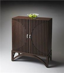 Butler Furniture Accent Specialty Butler Loft Contemporary Rich Espresso Door Chest ~ Linens 'n Things $1539