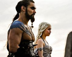 Deanerys & Khal - game of thrones
