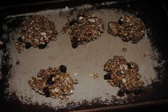 cinnamon currant breakfast cookies
