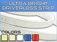 Ultra Bright Driverless LED Strip