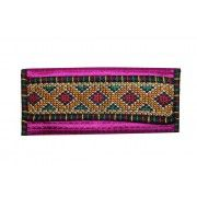 Pink Passion and Design Flap Clutch Bag
