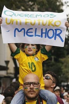 """ We want a better future!"" Brasil ✔BWC"