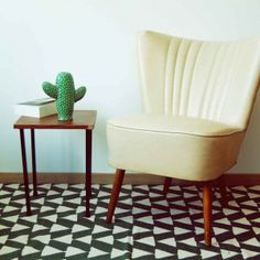 COCKTAIL CHAIR //  EXPO 58 // VELOURS //