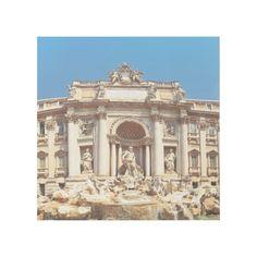 Trevi Fountain Gallery Wrap