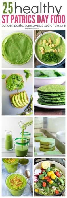 25 Healthy Green Recipe to Celebrate St Patrick's Day. 25 Healthy Green Recipe to Celebrate St Patrick's Day. Healthy green recipes for st patricks day. Simple and delicious treats, drinks and dishes to celebrate St pattys with kids and family. St Patrick Day Snacks, St Patricks Day Drinks, St Patricks Day Food, Healthy Eating Recipes, Clean Eating Recipes, Healthy Snacks, Easy Snacks, Dinners For Kids, Kids Meals