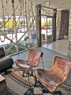 I am obsessed with Palm Springs. Southwest Bedroom, Palm Springs Style, Ace Hotel, Man Room, Eames Chairs, Industrial, Butterfly Chair, Cool Chairs, Unique Furniture