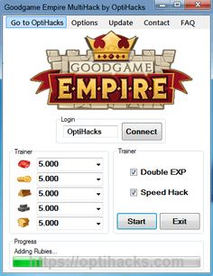 #Goodgame Empire Hack  features unlimited amount of coins, rubies, stones, wood Get it here > https://optihacks.com/goodgame-empire-hack/
