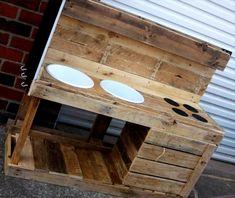 DIY #Pallet Mud #Kitchen for Kids   Pallet Furniture