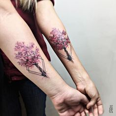 Water Color Tattoo by YELIZ OZCAN