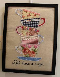 New Patchwork Quilt Ideas Design Inspiration Ideas Sewing Appliques, Applique Patterns, Applique Quilts, Patchwork Quilting, Applique Designs, Embroidery Applique, Machine Embroidery, Applique Ideas, Patchwork Patterns