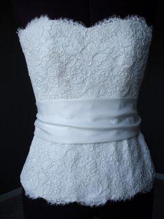 Monique Lhuillier another corset top