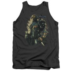 """Checkout our #LicensedGear products FREE SHIPPING + 10% OFF Coupon Code """"Official"""" Batman Arkham Origins / Deathstroke - Adult Tank - Batman Arkham Origins / Deathstroke - Adult Tank - Price: $29.99. Buy now at https://officiallylicensedgear.com/batman-arkham-origins-deathstroke-adult-tank"""