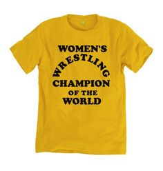 0289aea0a645 US 'song and dance man' Andy Kaufman - Women's Wrestling Champion T-shirt