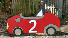 Vintage Race Car Photo Prop - Racing Birthday - Event and Party Decoration by BlueGardenias on Etsy https://www.etsy.com/listing/223007800/vintage-race-car-photo-prop-racing