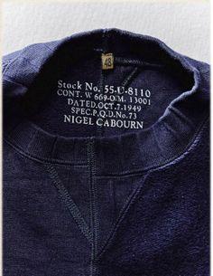 Army Crew Sweatshirt Crazy ‹ Mainline ‹ Store ‹ Nigel Cabourn
