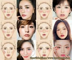 Read information on step by step eye makeup Pop Art Makeup, Cheek Makeup, Blush Makeup, Beauty Makeup, Makeup Eyes, Korean Makeup Look, Korean Makeup Tips, Asian Eye Makeup, Asian Makeup Tutorials