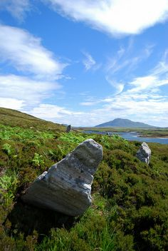 Pobull Fhinn, North Uist, Outer Hebrides, Scotland.