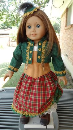 "18"" Doll Clothes Steampunk / Pirate Outfit Fits American Girl and Similar Dolls"