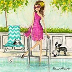 Hello July | Bella Pilar