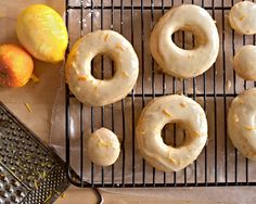 Citrus-glazed Yeast Donuts – baked, not fried! (vegan) | chel rabbit